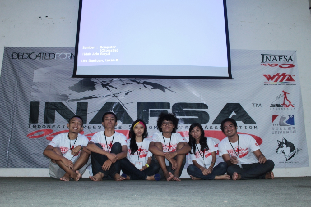 Coaching Clinic with INAFSA (Indonesia Freestyle Slalom Skaters Association) (1/6)