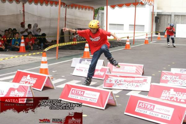 Nugroho Wicaksono a.k.a Nugi, skate cross junior men